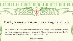 Plaidoyer rosicrucien pour une écologie spirituelle