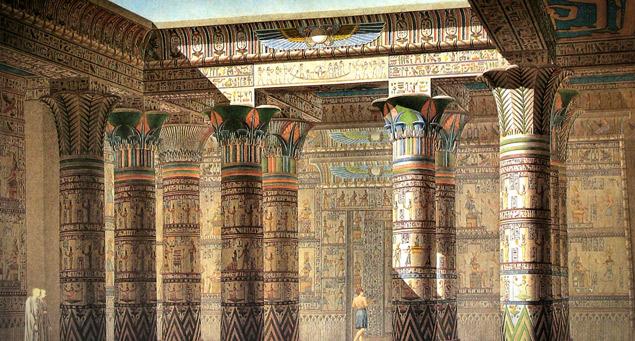 Le symbolisme du Temple égyptien