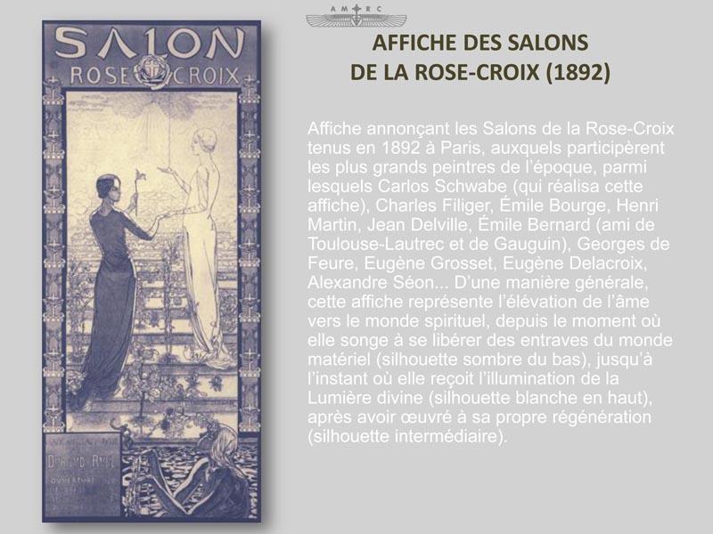 R trospective la rose croix des origines nos jours for Salon rose croix
