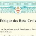 Ethique des Rose-Croix