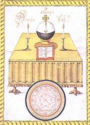 rose-croix-d-or-manuscrit-autel