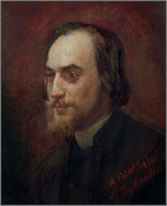 E. Satie peint par Desboutin