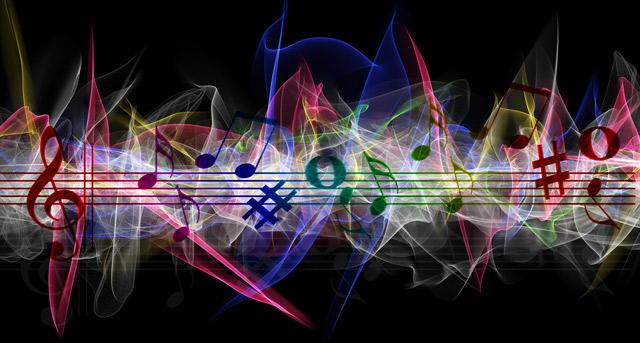 Les affinités entre musique et couleurs