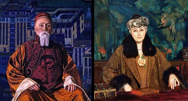 Le voyage spirituel de Nicolas et Éléna Roerich