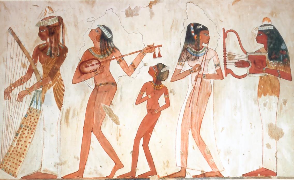 La joie dans la spiritualité égyptienne