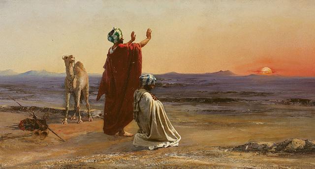 La prière silencieuse : les Pères du désert