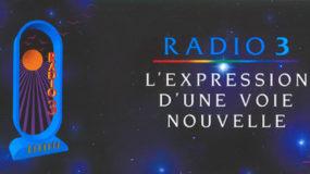 Radio 3 L'expression d'une voie nouvelle