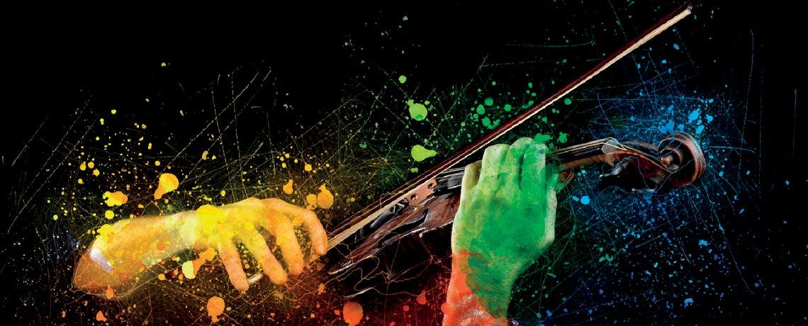 Les affinités subtiles entre musique et couleurs